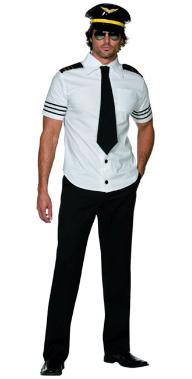Piloten Kostüm für Fasching